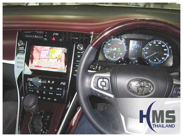 ติดดิจิตอลทีวี+เสารับสัญญาณวิทยุคลื่นประเทศไทย บน Toyota Harrier